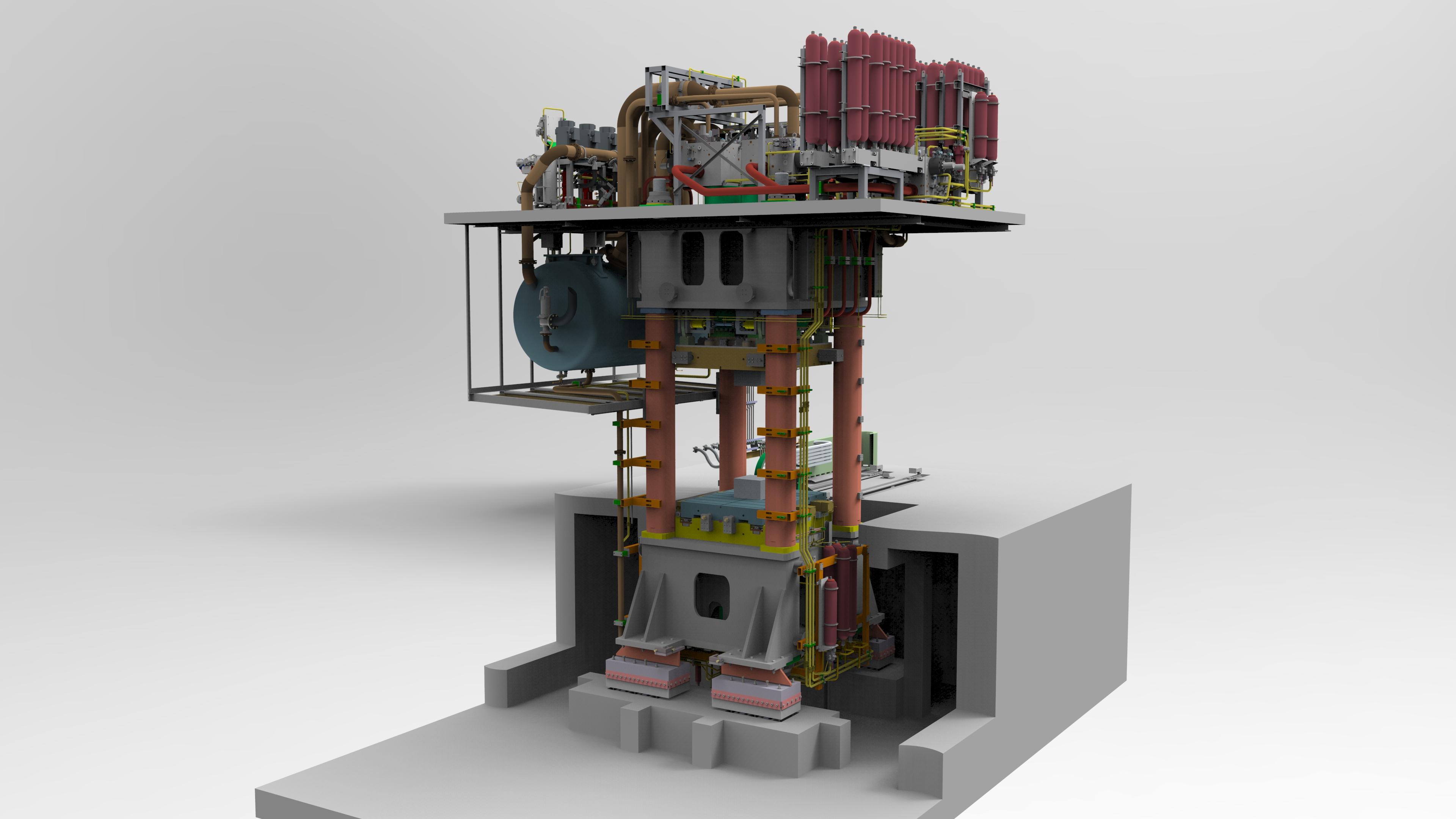 Hydraulic OHLF Press